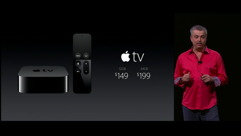Вот's how much the Apple TV will cost