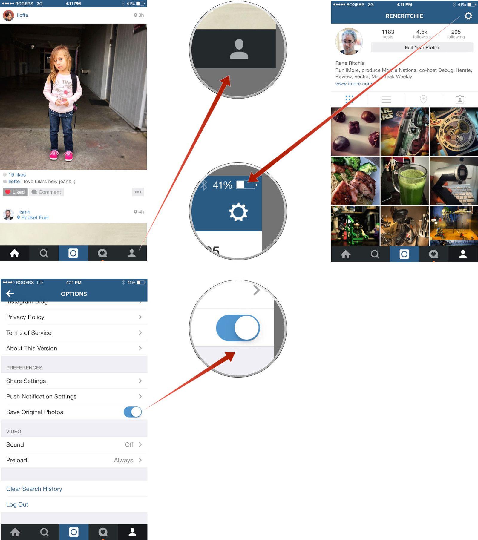 Кто сохраняет твои фото в инстаграм