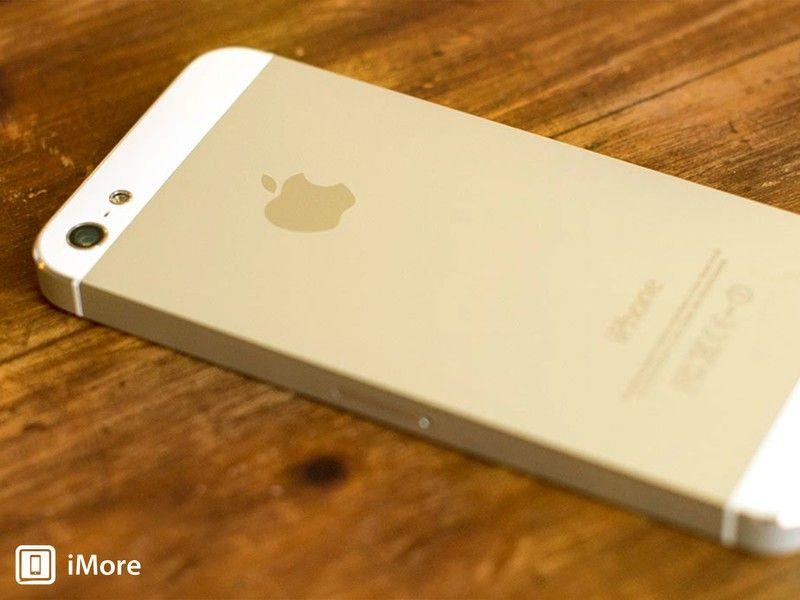 Изображения конструкций iPhone 5s и iPhone 5c