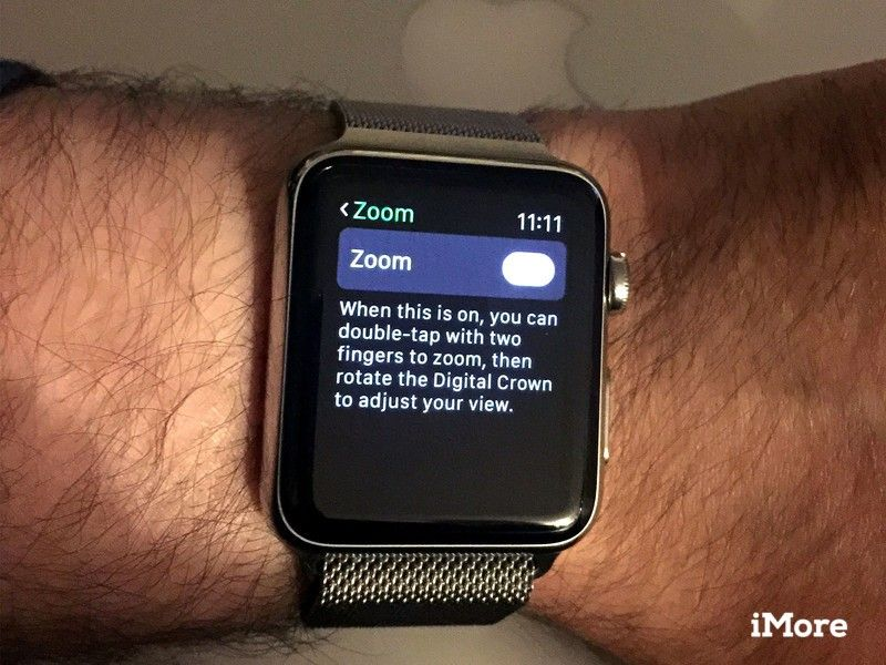 Apple Watch Zoom