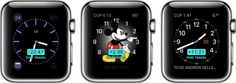Apple Watch Time Travel 2