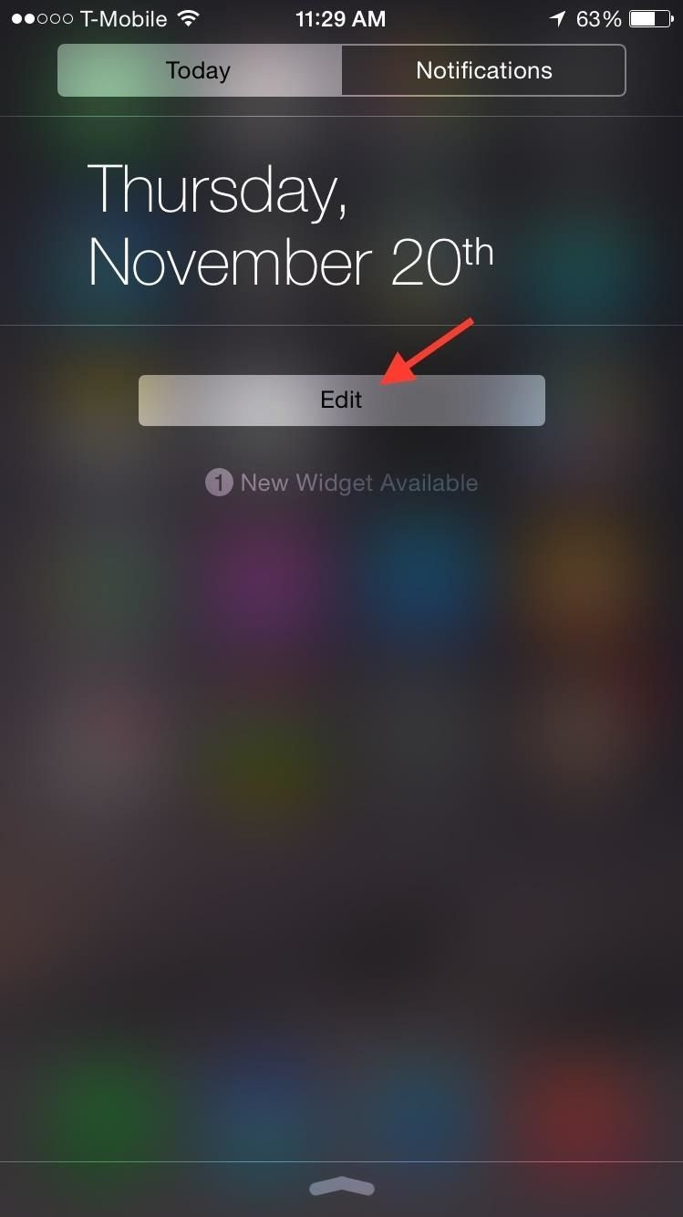Добавить заметки на свой iPhone's Notification Center for Easy Access Anytime