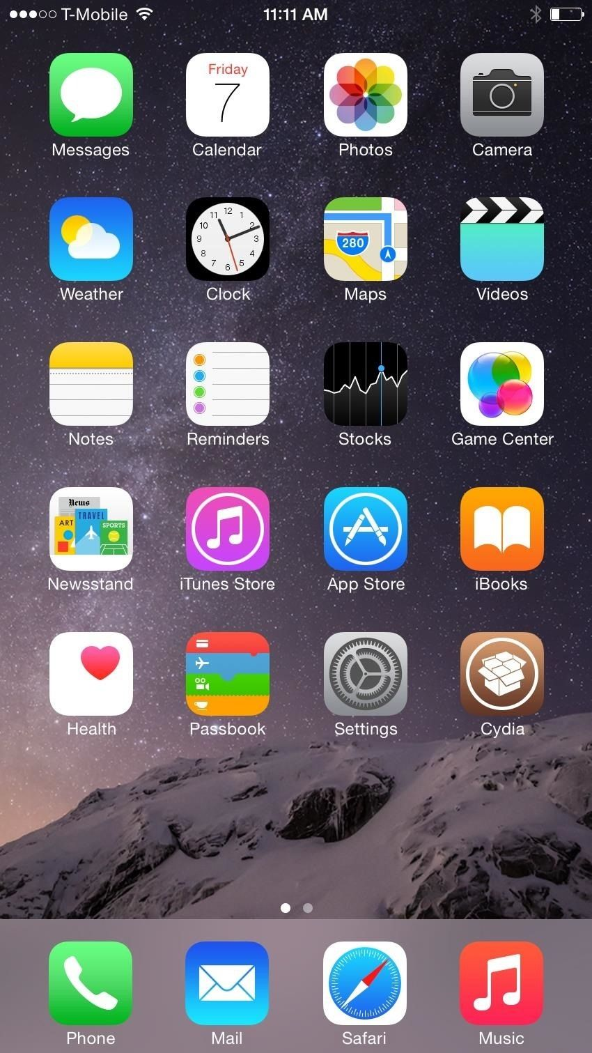 Получить iPhone 6 Plus' Resolution & Home Screen Landscape Mode on Your iPhone 6