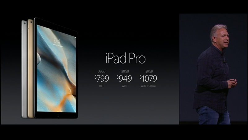 Вот's how much the iPad Pro will cost