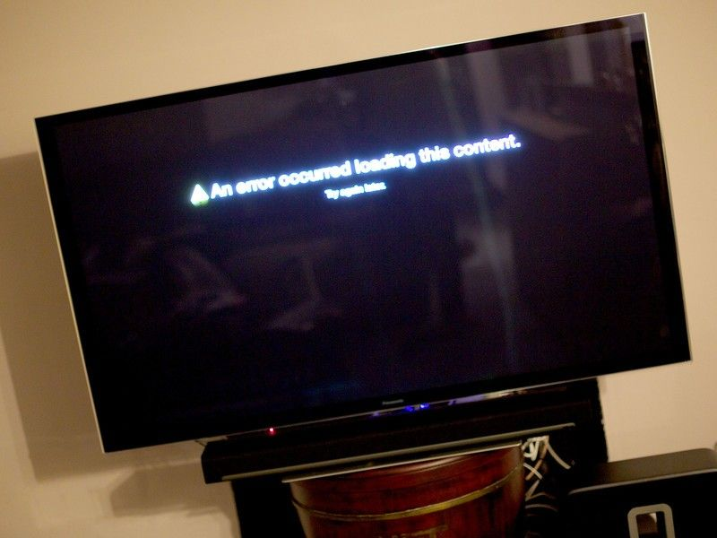 Netflix на Apple TV вырвет страшных'An error occurred loading this content'? Here's how to fix it!